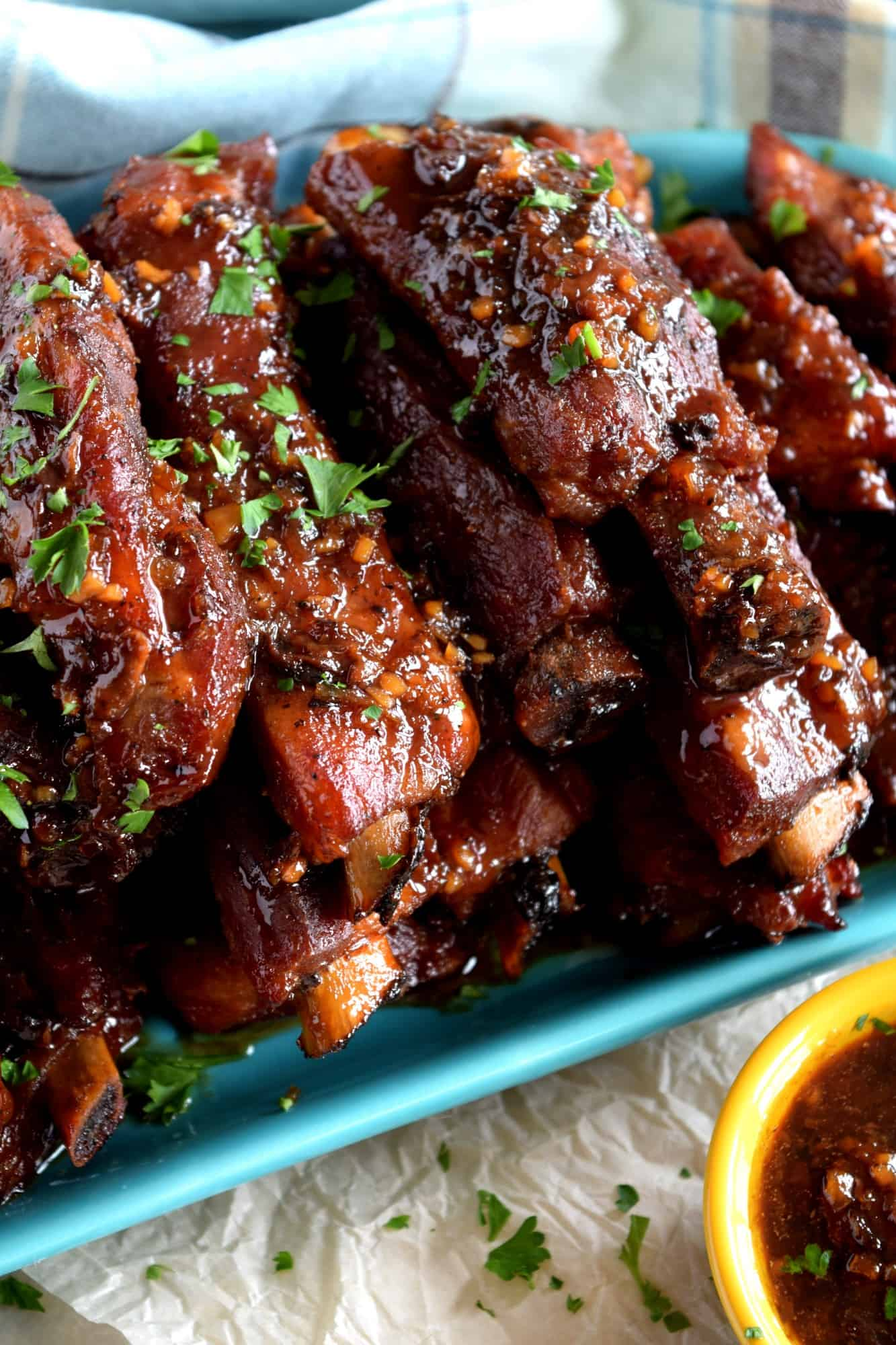 Copycat Chinese Restaurant Dry Garlic Ribs Lord Byron S Kitchen