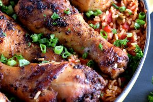 One Pot Spiced Chicken And Dirty Rice