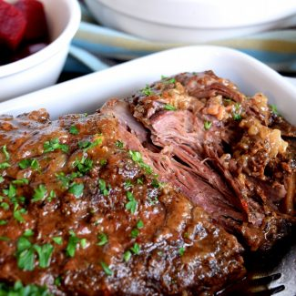 Three Ingredient Slow Cooker Pot Roast