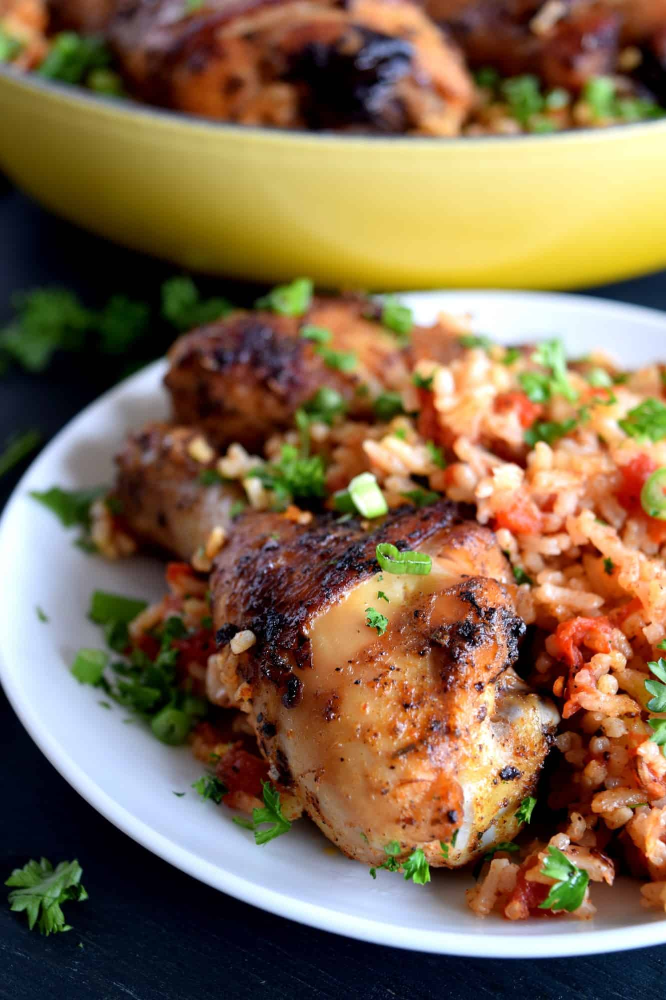 One Pot Spiced Chicken And Dirty Rice Lord Byron S Kitchen