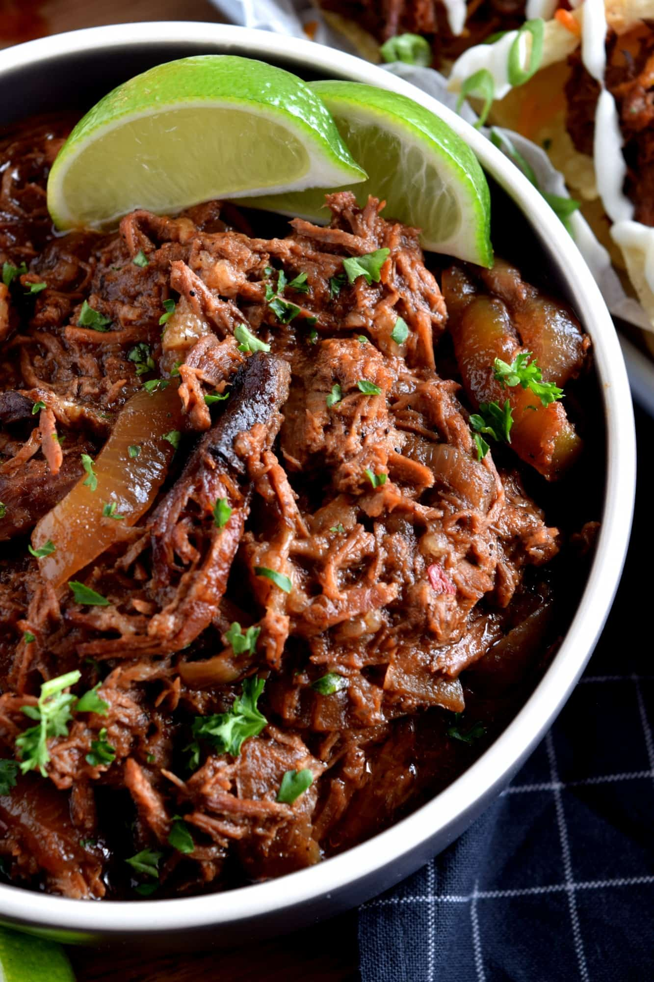 Slow Cooker Barbeque Pulled Beef