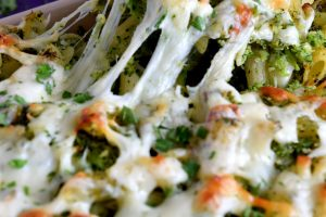Baked Pasta With Broccoli Pesto And Mozzarella