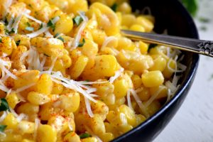 Seasoned Creamy Cheesy Sweet Corn