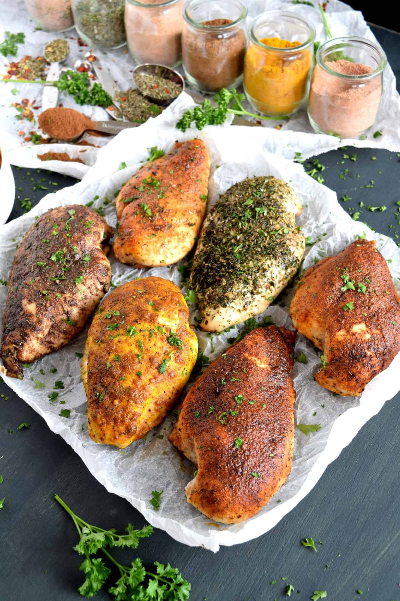 6 Seasoning Blends For Baked Chicken