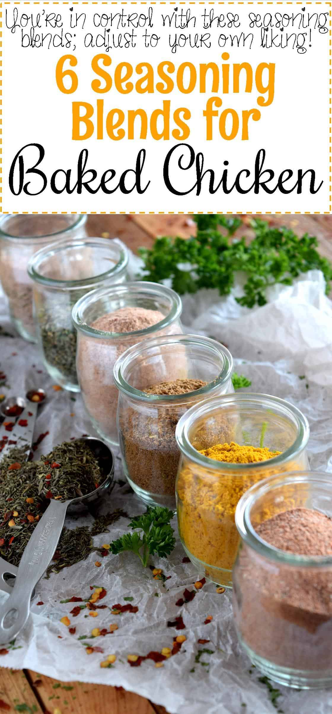 6 Seasoning Blends for Baked Chicken - Lord Byron's Kitchen
