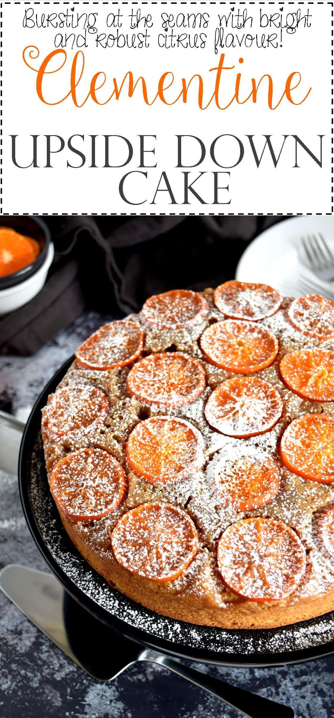 Easy Clementine Cake