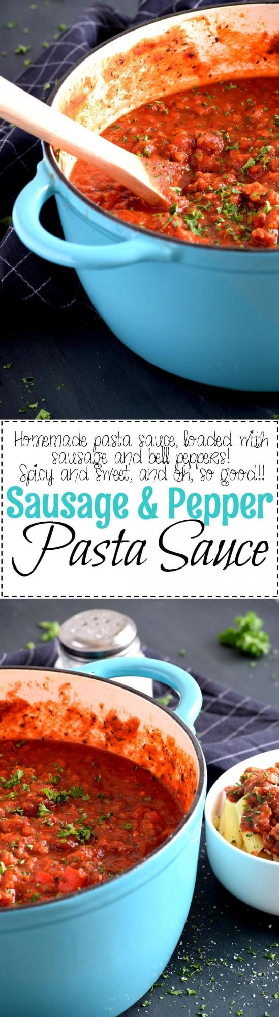 Sausage and Pepper Pasta Sauce - Lord Byron\'s Kitchen