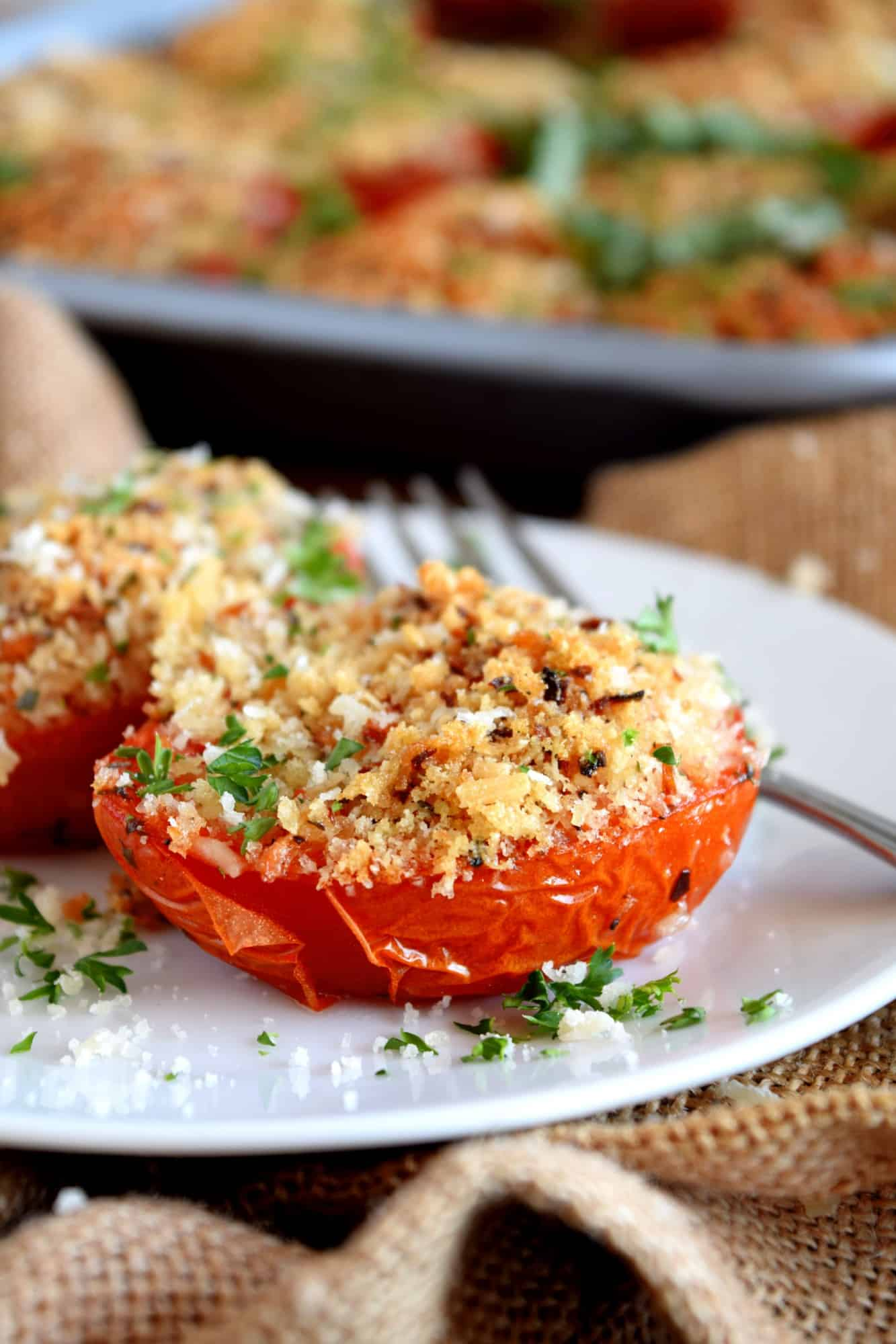 Roasted Stuffed Tomatoes