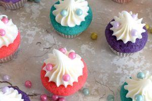 Bakery Style Mini Vanilla Cupcakes