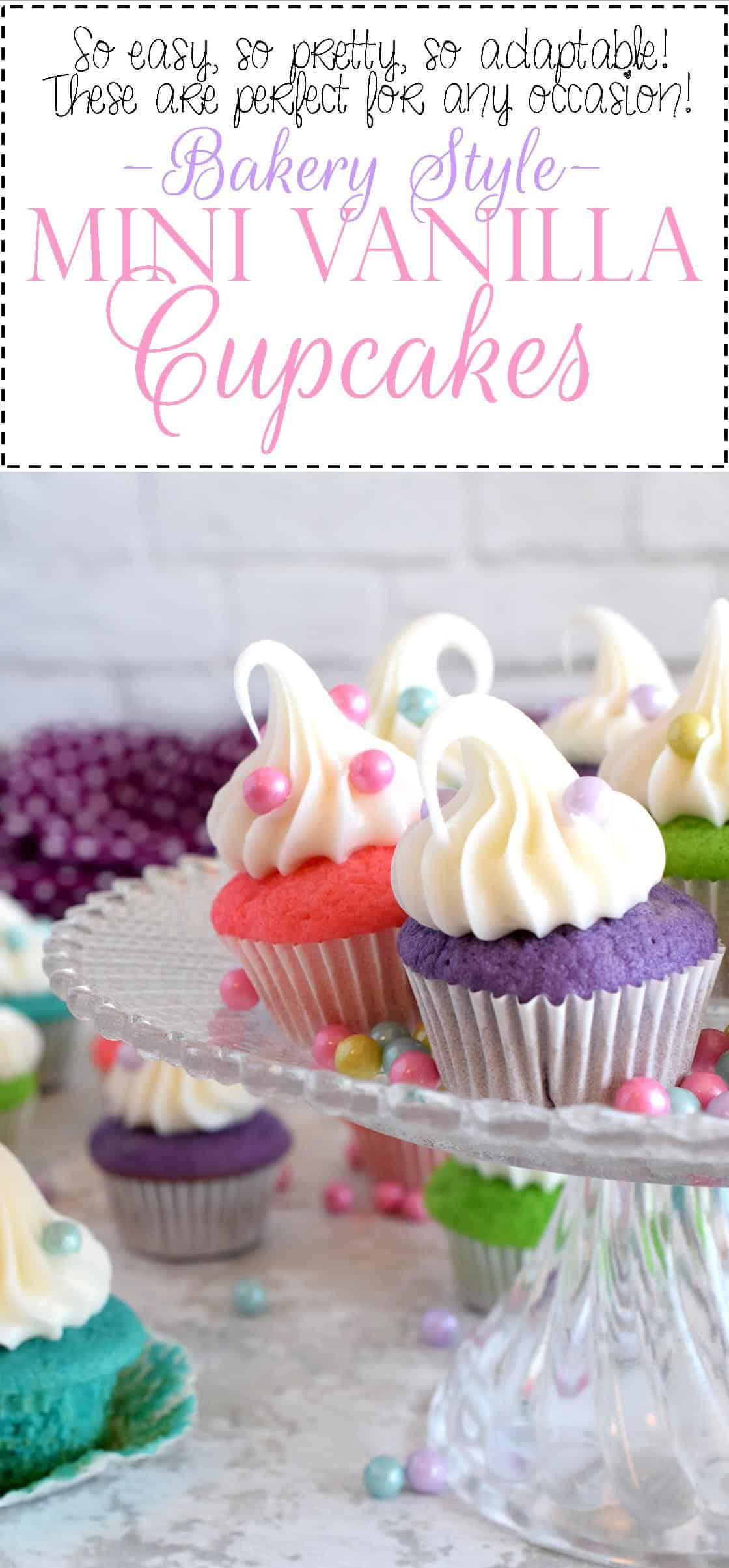 a-classic-vanilla-cupcake-recipe-which-has-been-all-gussied-up-for-a-delightful-springtime-affair-bakery-style-mini-vanilla-cupcakes-are-super-easy-and