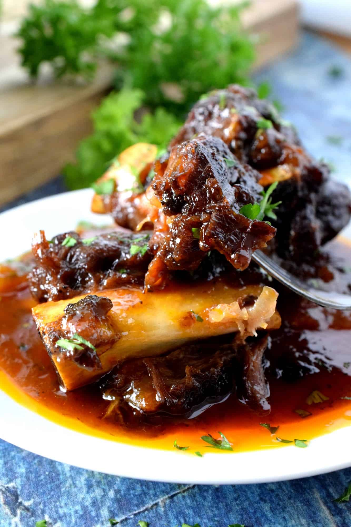 Sweet And Sour Braised Beef Short Ribs