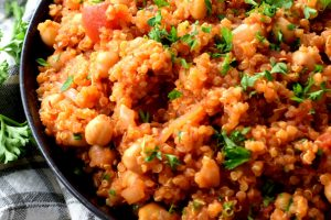 Chickpea And Tomato Quinoa