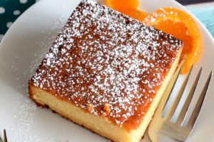 Orange Yogurt Coffee Cake