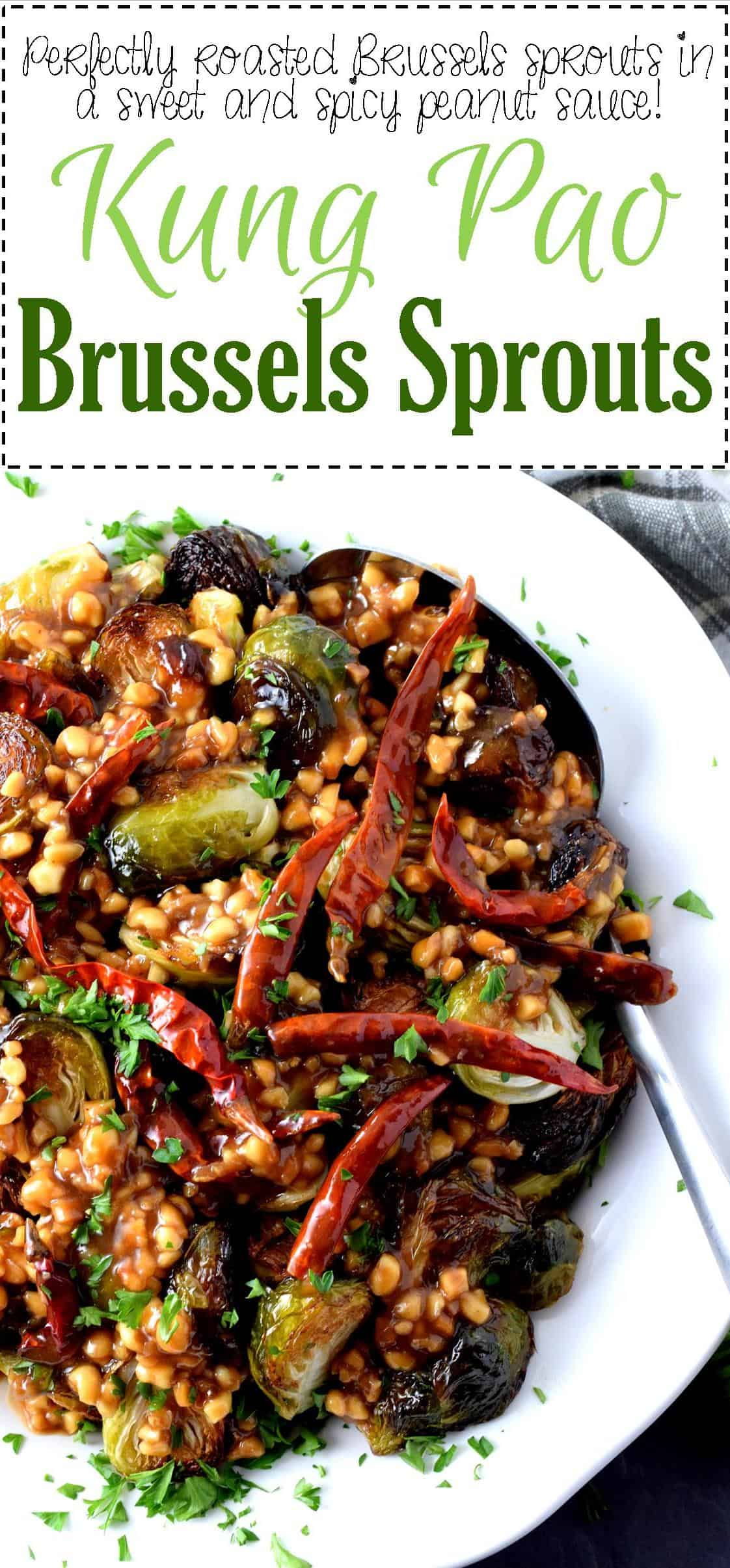 Kung Pao Brussels Sprouts - Lord Byron's Kitchen