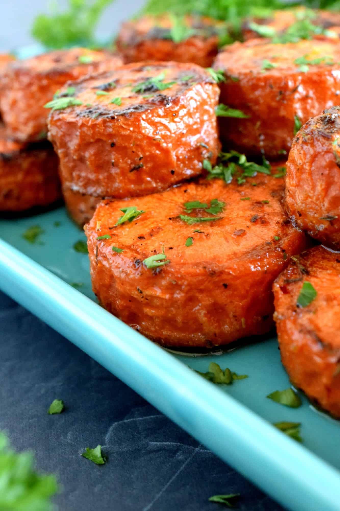 Roasted Jumbo Carrots