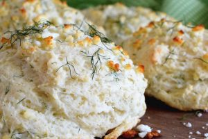 Savoury Dill And Feta Scones