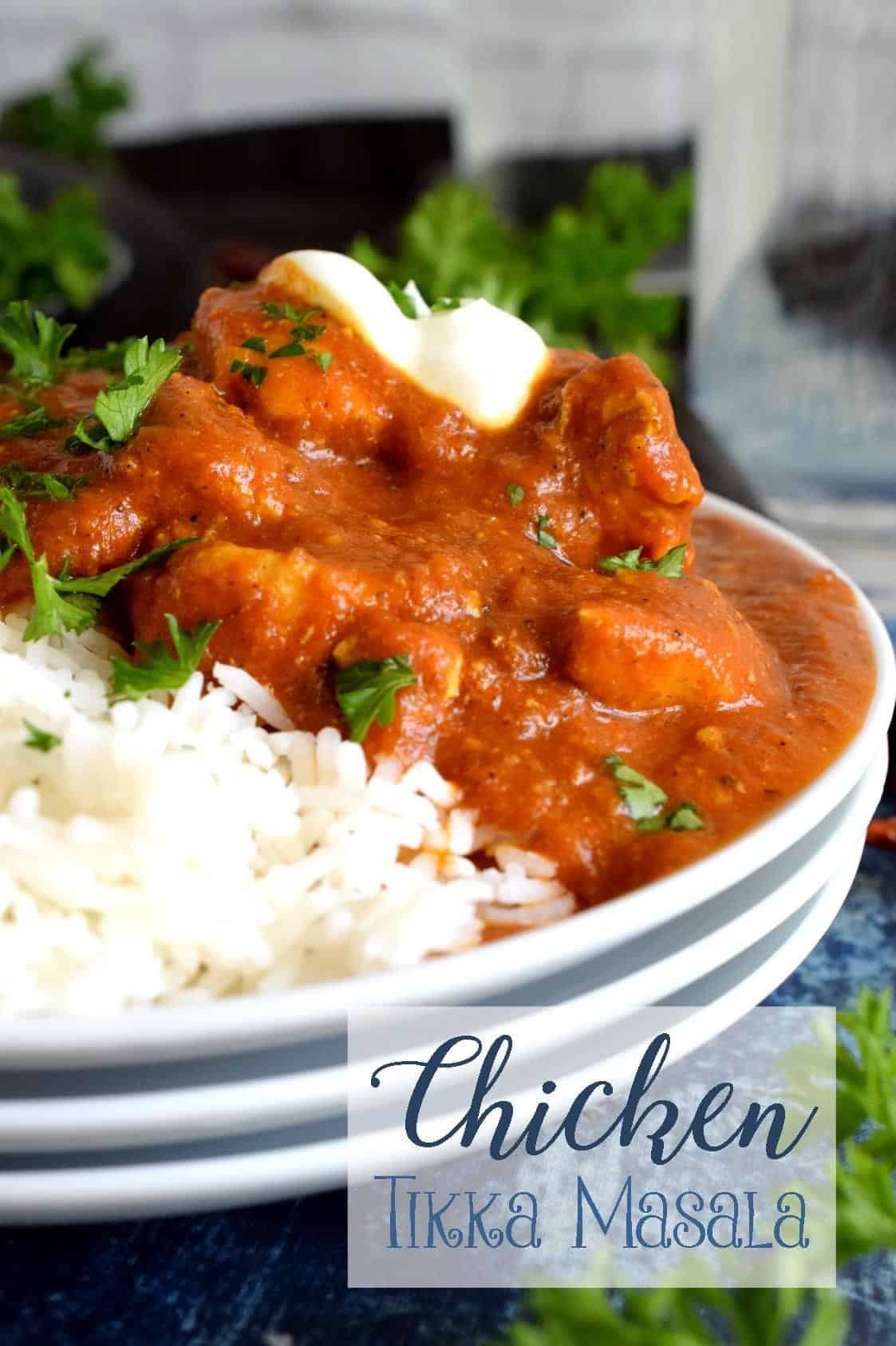 Chicken tikka masala lord byrons kitchen tender chicken breast pieces marinated in yogurt and spices and simmered in a thick luscious curry sauce why go out for indian food when you can stay at forumfinder Choice Image