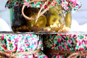 Preserved Candied Jalapenos