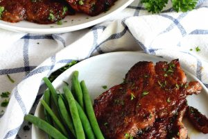 Spicy Honey Lime Pork Chops