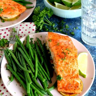 Sriracha Honey Lime Salmon