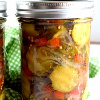 Bread And Butter Zucchini Pickles
