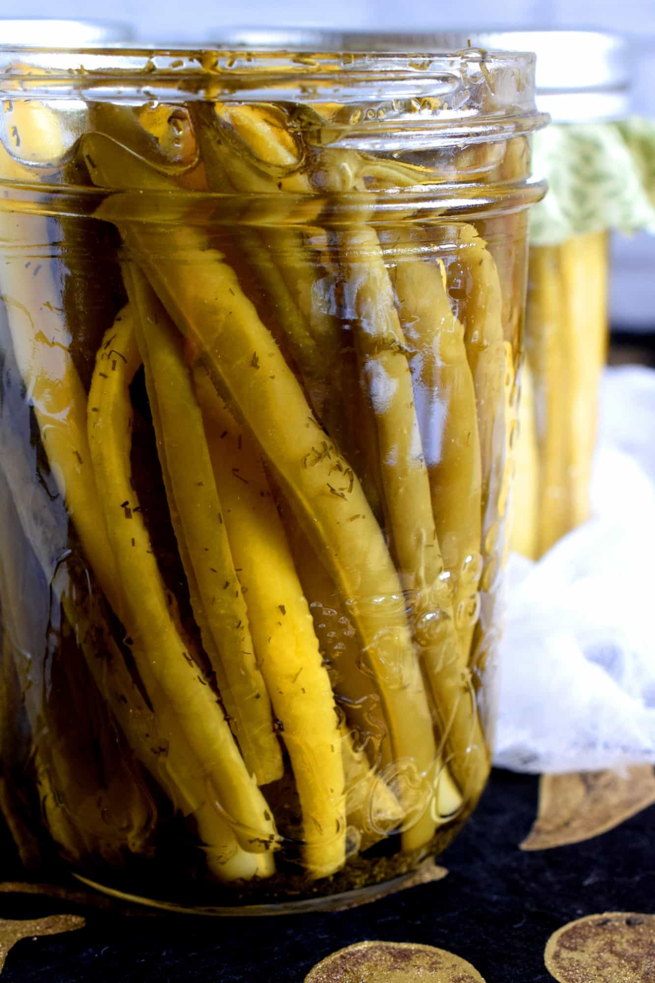 Dill Pickled Wax Beans