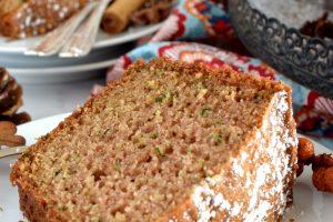 Autumn Spiced Zucchini Bundt Cake