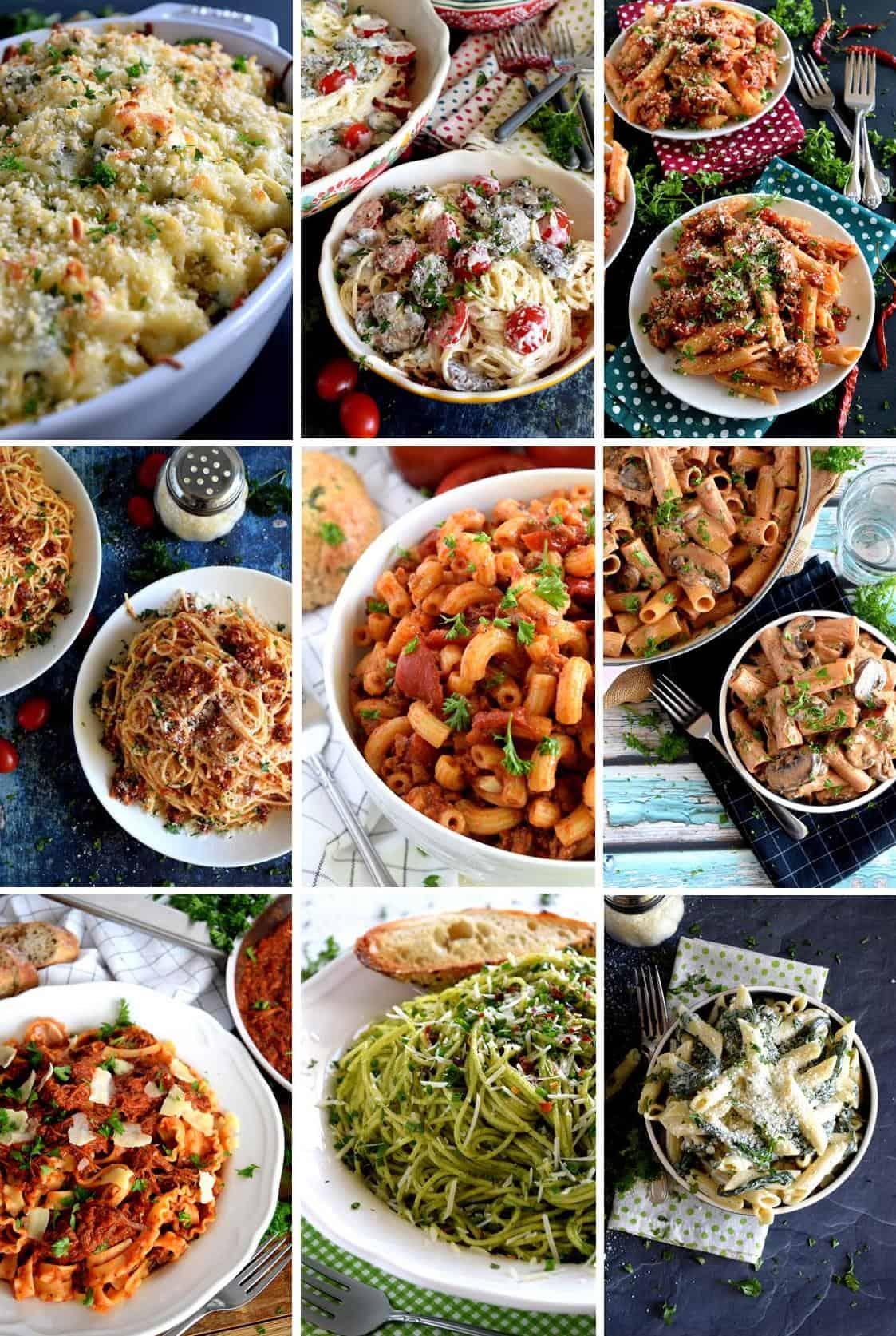 11 Perfect Weeknight Pasta Recipes