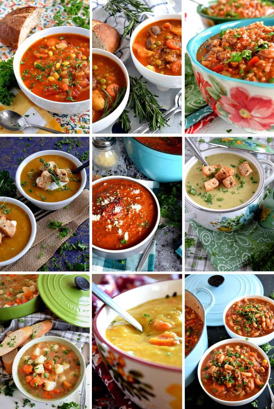17 Vegetarian Warm And Cozy Soup Recipes