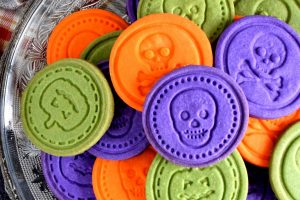 Halloween Sugar Stamp Cookies