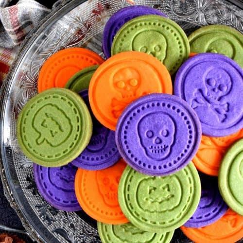 Halloween Sugar Stamp Cookies