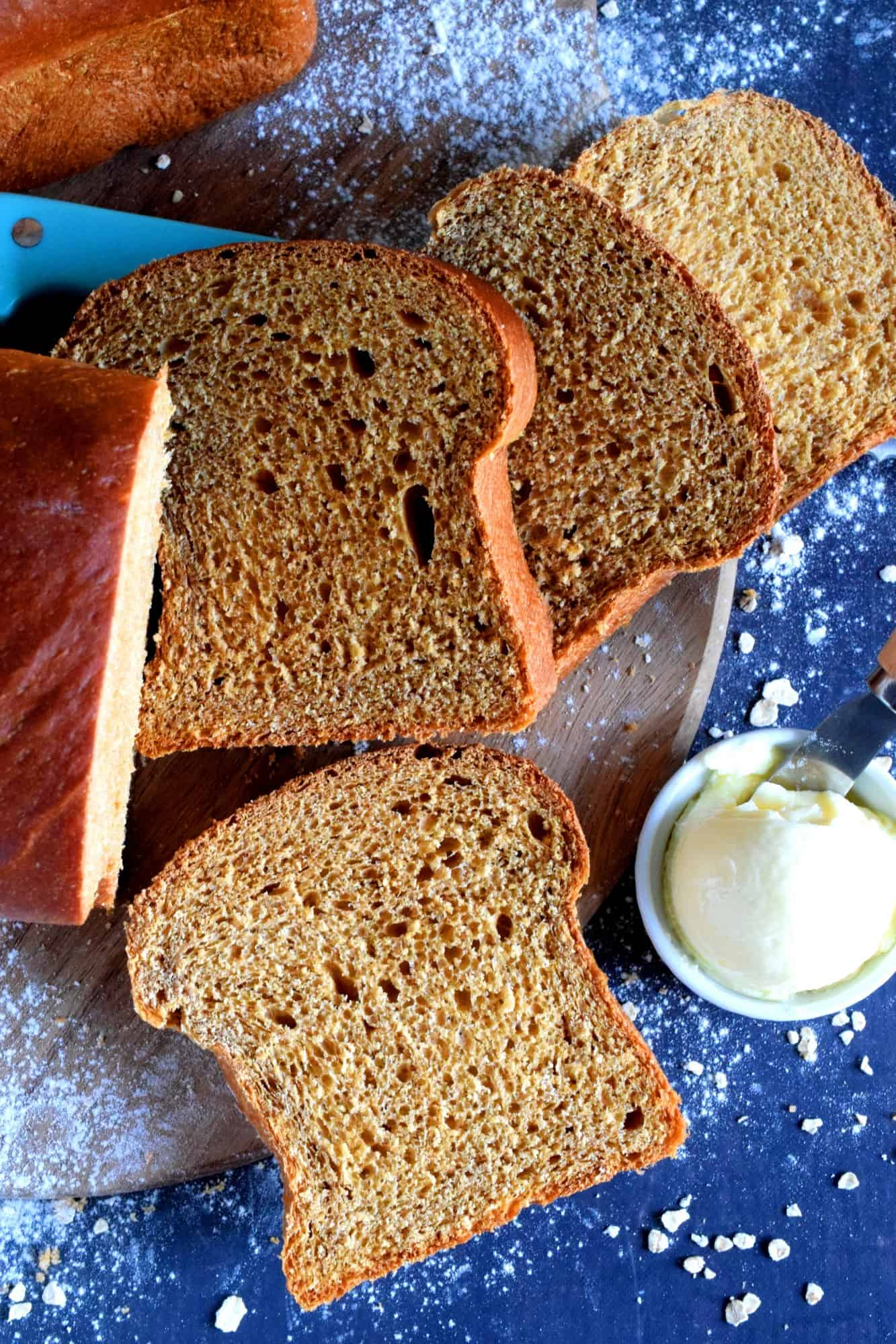Newfoundland Molasses Sweet Bread