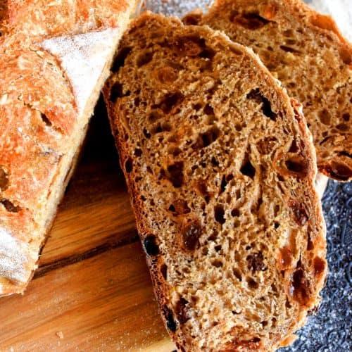 Dutch Oven Cinnamon Raisin Bread - Lord Byron's Kitchen