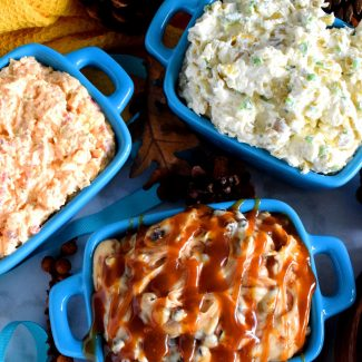 3 Cream Cheese Dips {Smoky, Spicy, & Sweet!}