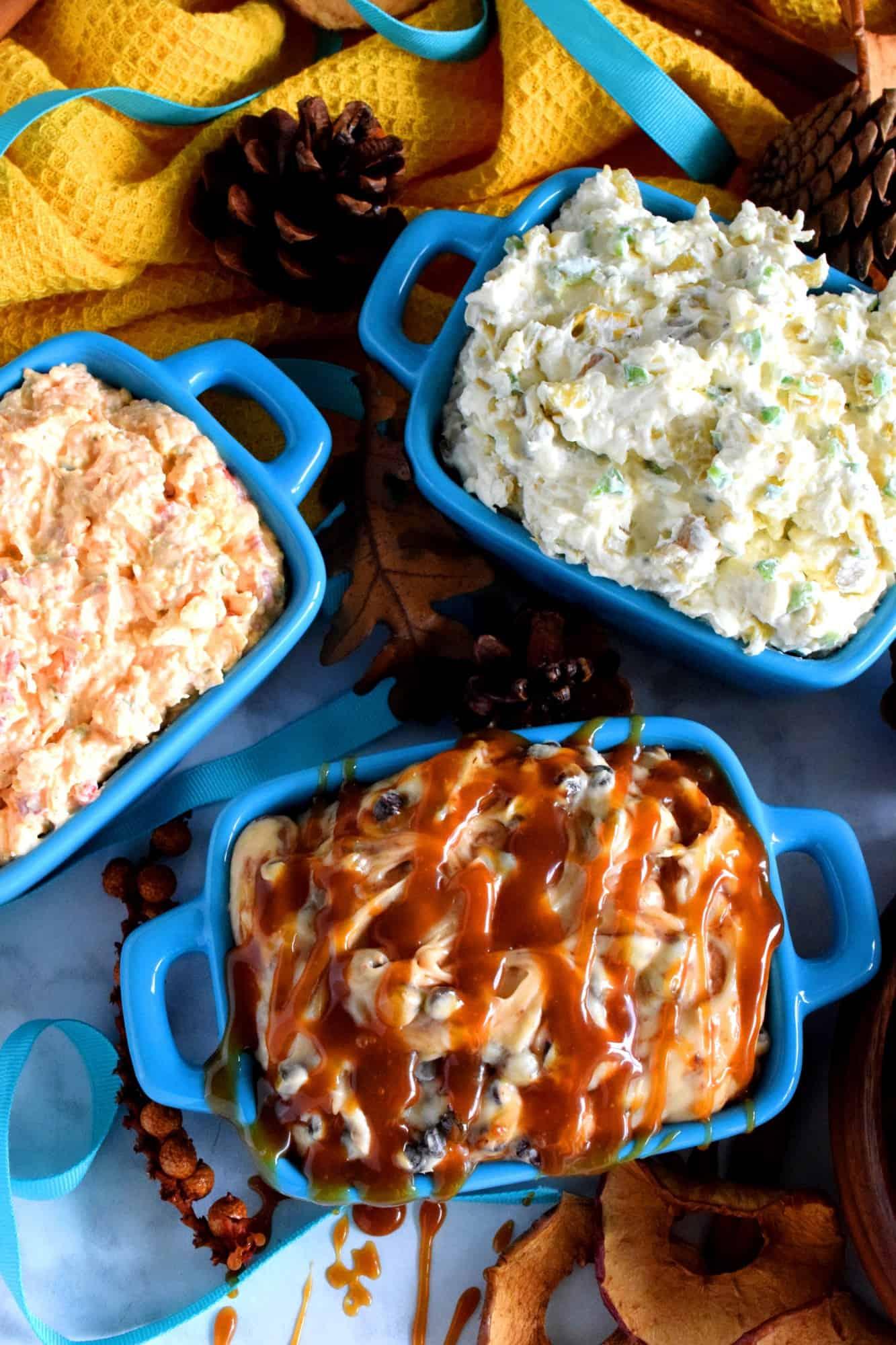 3 Cream Cheese Dips