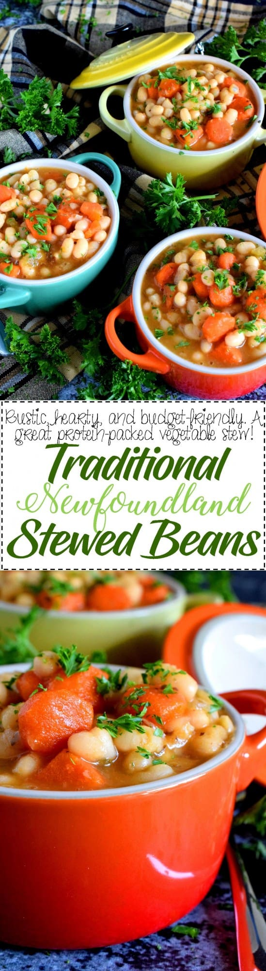 Traditional Newfoundland Stewed Beans