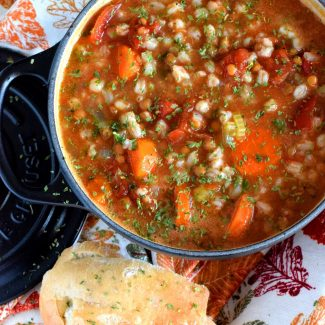 Vegetable Farro Soup