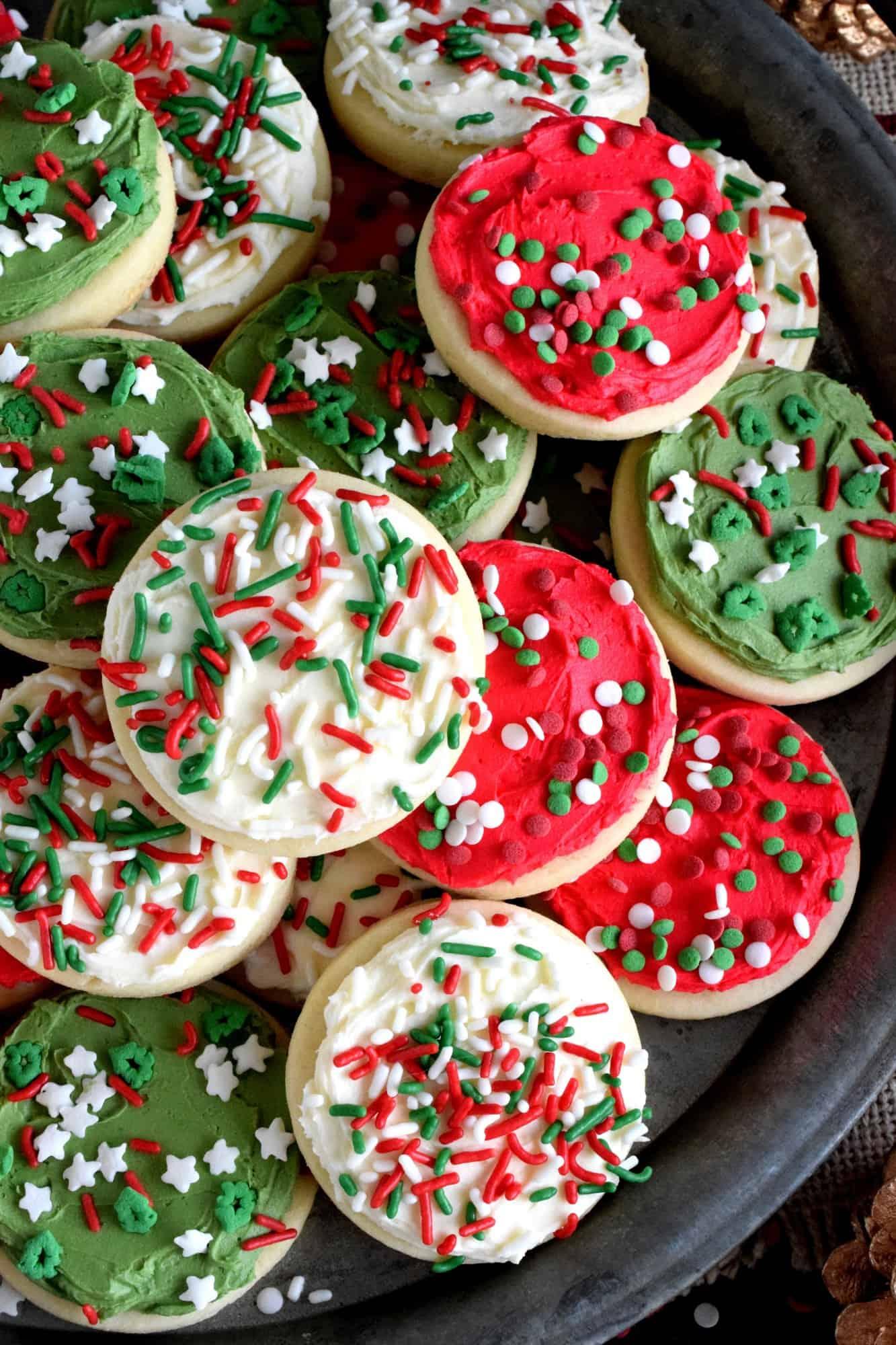 Christmas Lofthouse Cookies