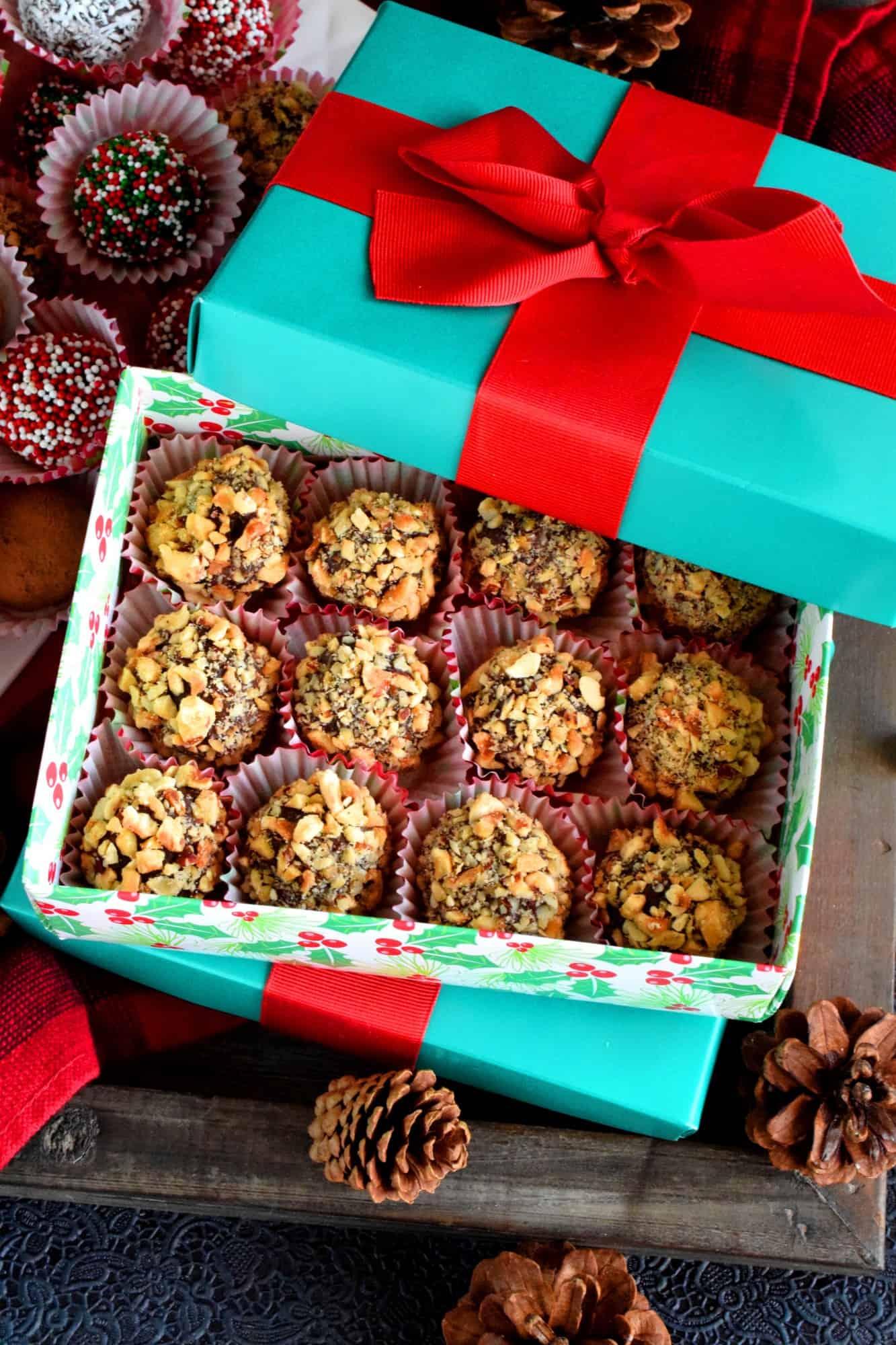 Nutella Holiday Truffles
