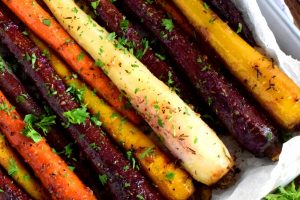 Savoury Roasted Carrots