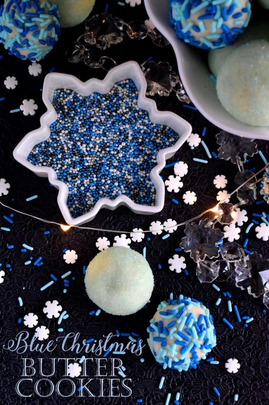Blue Christmas Butter Cookies Lord Byron S Kitchen
