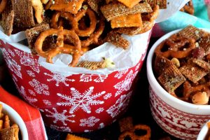 Christmas Eve Savoury Snack Mix
