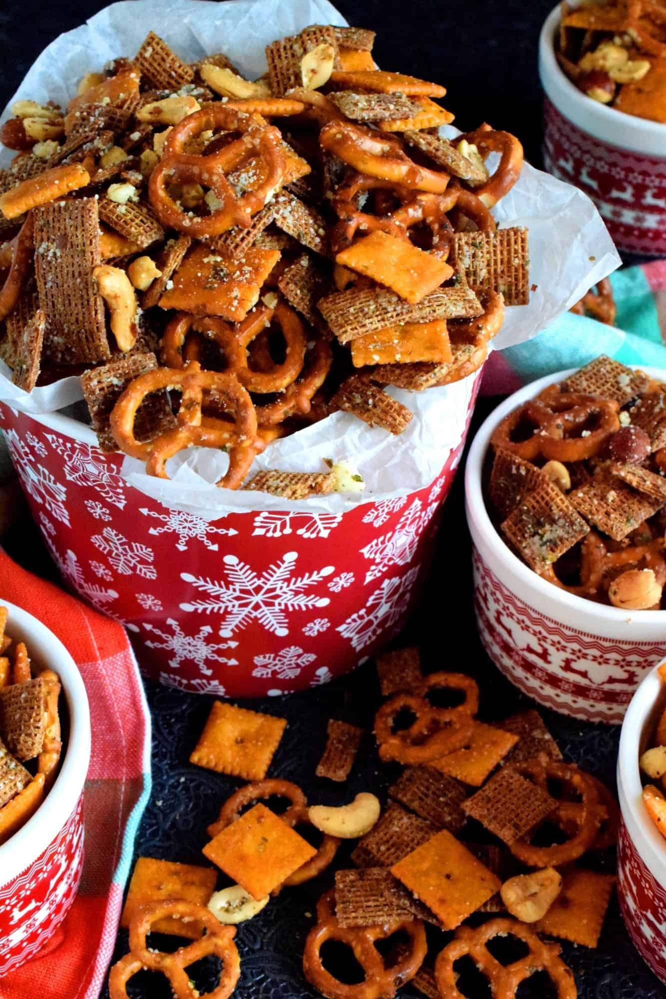 Christmas Eve Savoury Snack Mix