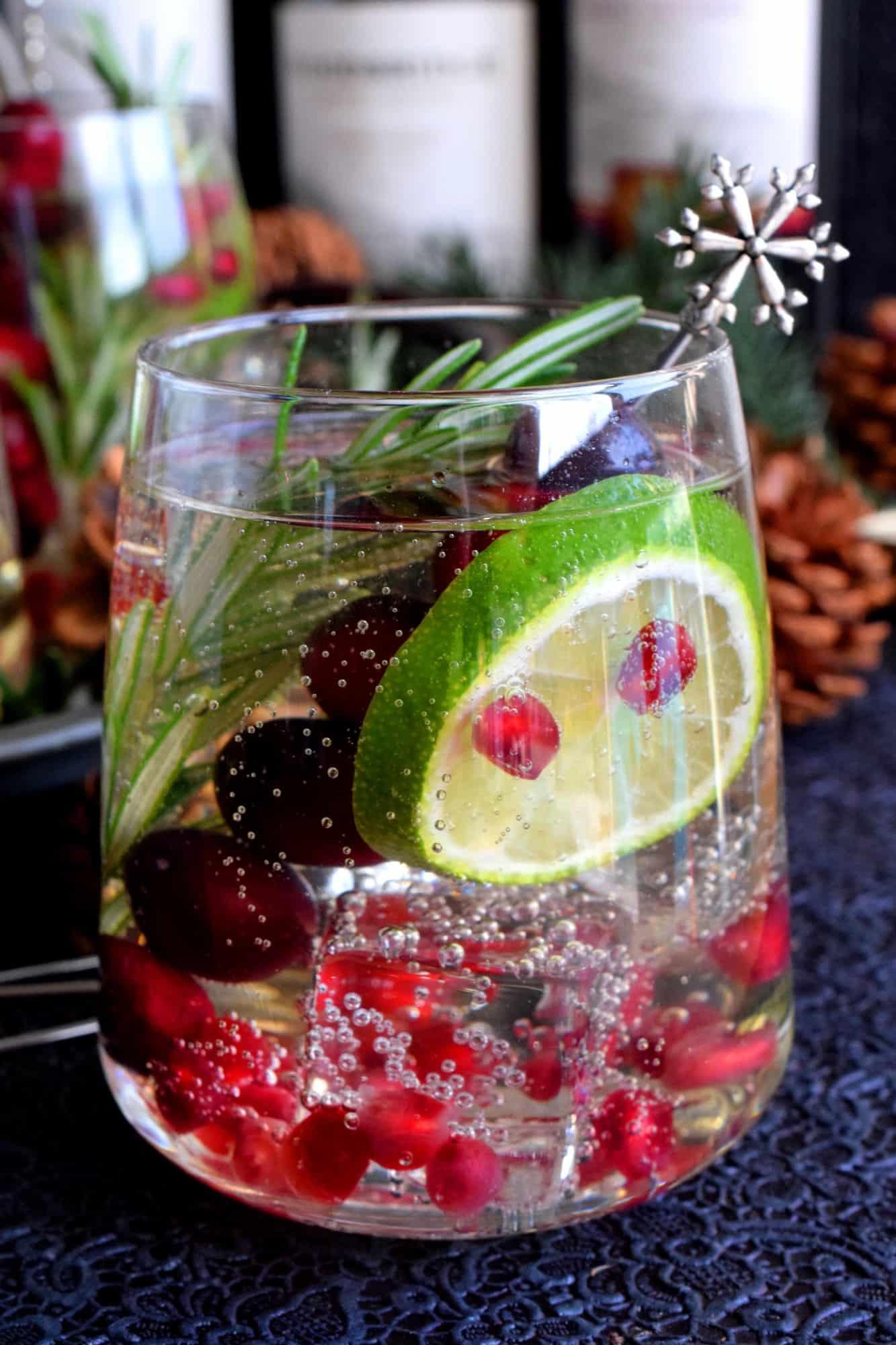 Christmas Citrus Cocktail