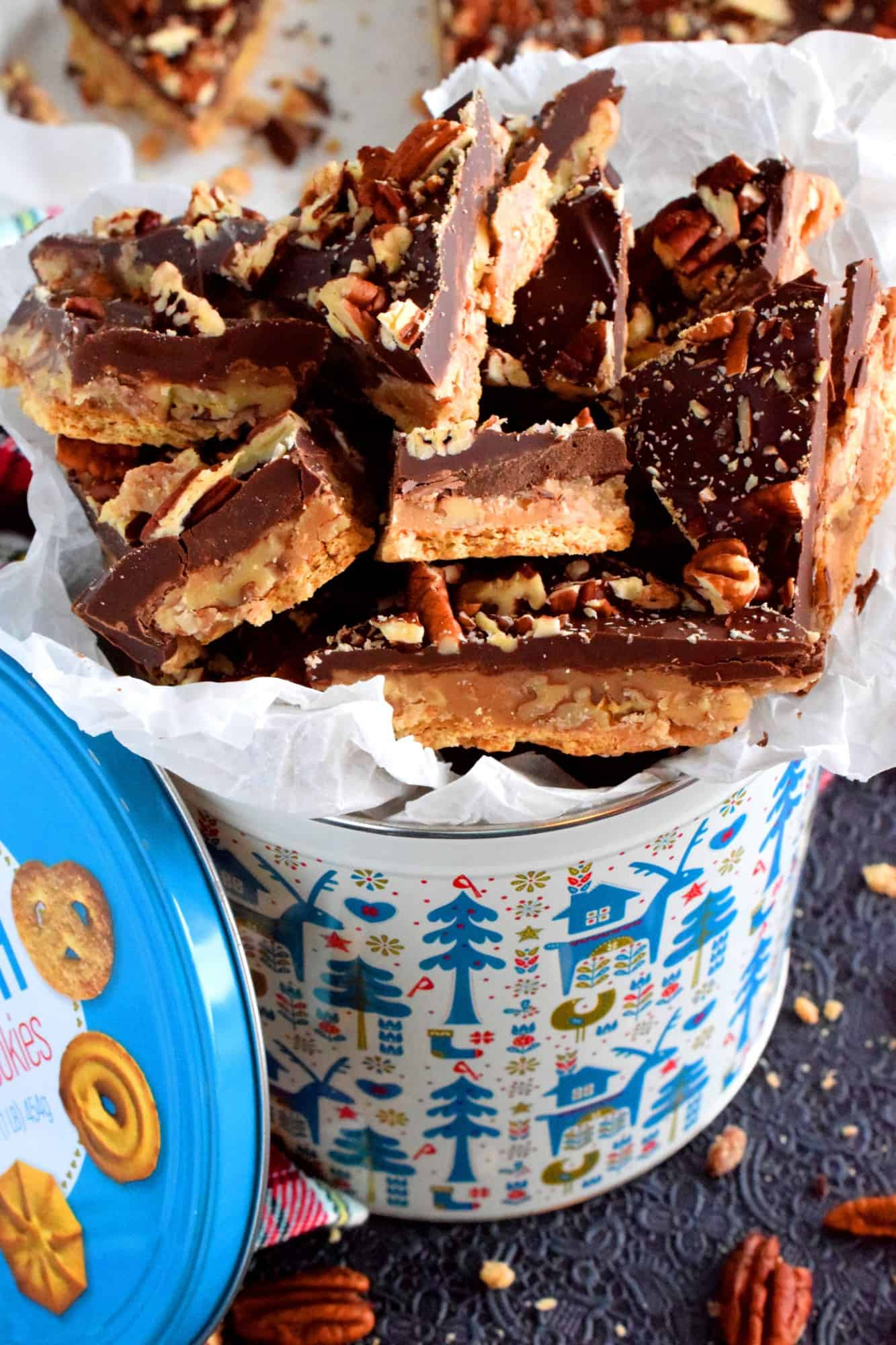 Chocolate Toffee Candy