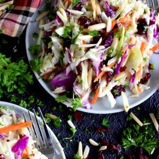 Easy Healthy Winter Coleslaw