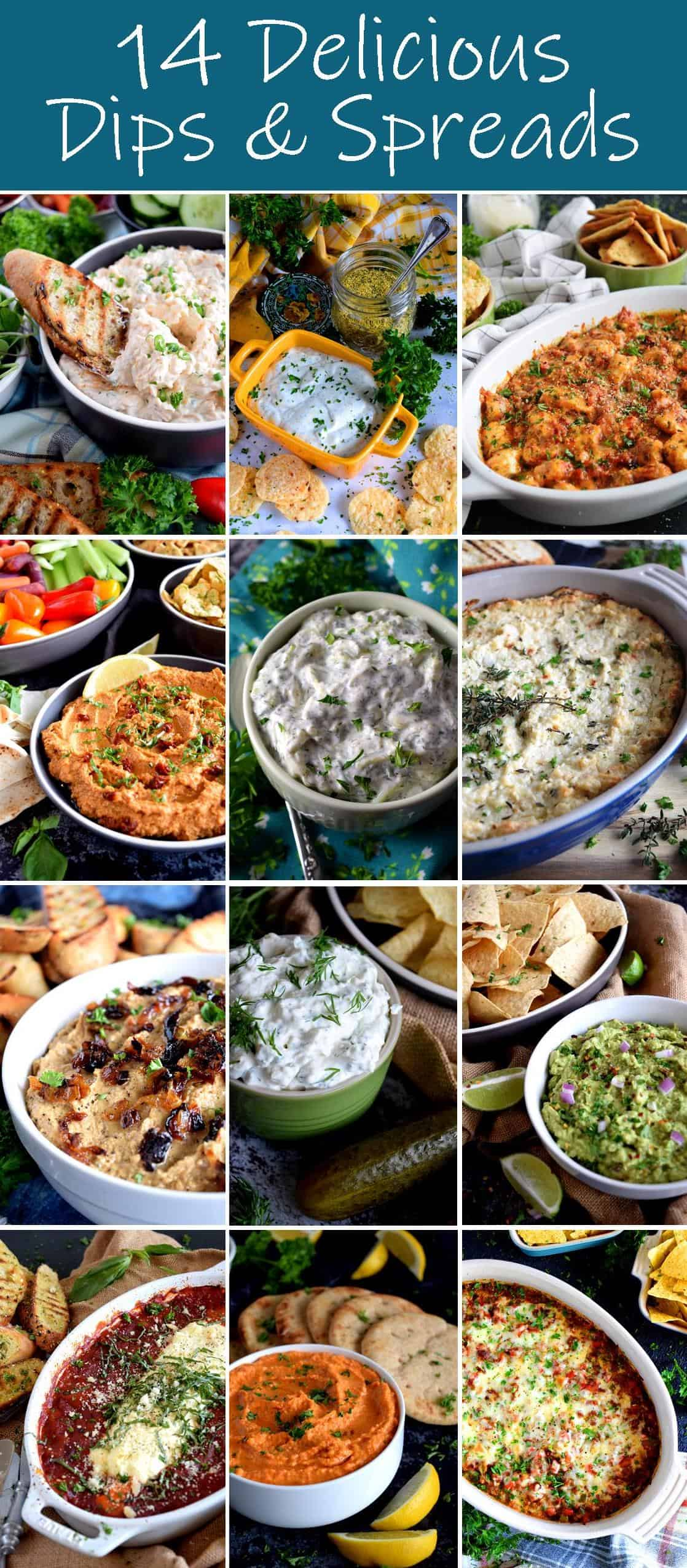 14 Delicious Dips and Spreads - Lord Byron's Kitchen