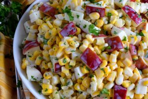 Apple And Corn Salad