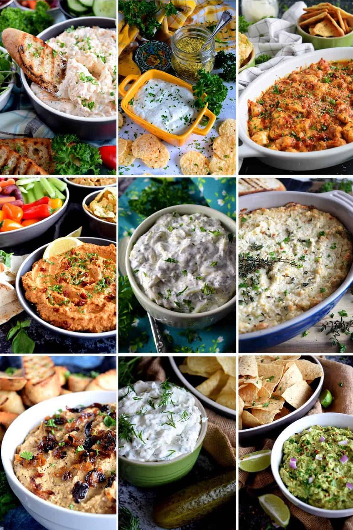 14 Delicious Dips And Spreads