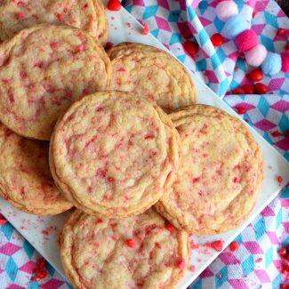 Valentine Cinnamon Heart Cookies